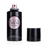 YVES SAINT LAURENT BLACK OPIUM, парфюмированный дезодорант для женщин 150 мл