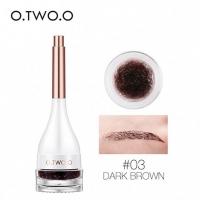 O.TWO.O 2 IN 1 - №03, подводка гелевая для глаз и бровей