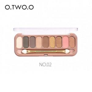 ТЕНИ O.TWO.O - №2, тени для век 9 цветов