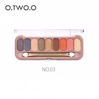 ТЕНИ O.TWO.O - №3, тени для век 9 цветов