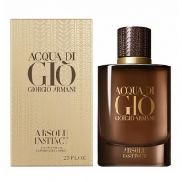 GIORGIO ARMANI ACQUA DI GIO ABSOLU INSTINCT, парфюмерная вода для мужчин 100 мл