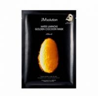 JMSOLUTION GOLDEN COCOON (с протеинами кокона золотого шелкопряда), маска тканевая