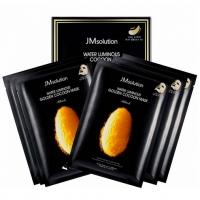 JMSOLUTION GOLDEN COCOON (с протеинами кокона золотого шелкопряда) - 10 штук, маска тканевая