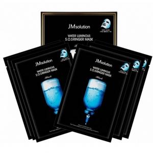 JMSOLUTION S.O.S RINGER MASK - 10 штук, маска тканевая ультраувлажняющая