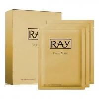 RAY (с коллоидным золотом) - 10 штук, маска омолаживающая для лица
