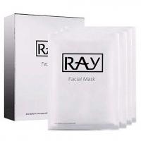 RAY (с коллоидным серебром) - 10 штук, маска омолаживающая для лица