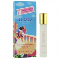 ESCADA SORBETTO ROSSO LIMITED EDITION, женские масляные духи с феромонами 10 мл