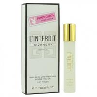 GIVENCHY L'INTERDIT, женские масляные духи с феромонами 10 мл