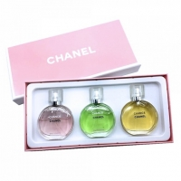 CHANEL CHANCE 3*25 мл, парфюмерный набор для женщин 3 в 1
