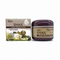 EKEL AMPLE INTENSIVE SNAIL CREAM (с экстрактом муцина улитки), крем для лица 85 мл
