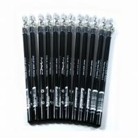 M.A.C, карандаши для глаз с точилкой чёрные (12 штук)