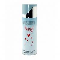 MOSCHINO FUNNY!, парфюмированный дезодорант для женщин 200 мл (производство ОАЭ)