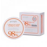 PETITFEE 98% COLLAGEN AND COQ10 - 60 штук, гидрогелевые патчи для глаз