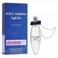 DOLCE & GABBANA LIGHT BLUE, женский спрей с феромонами 30 мл