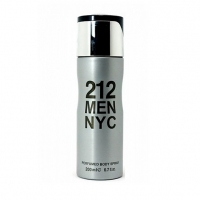 212 MEN NYC, парфюмированный дезодорант для мужчин 200 мл (производство ОАЭ)