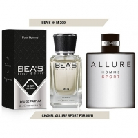 BEA'S M 209 (CHANEL ALLURE HOMME SPORT), мужская парфюмерная вода 50 мл