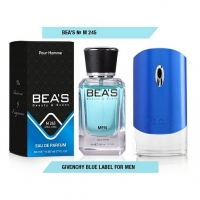 BEA'S M 245 (GIVENCHY POUR HOMME BLUE LABEL), мужская парфюмерная вода 50 мл