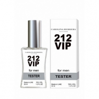 CAROLINA HERRERA 212 VIP MEN, тестер для мужчин 35 мл (производство ОАЭ)