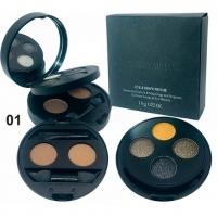 GIORGIO ARMANI PRISME - №01, тени для век 4 цвета + для бровей 2 цвета 18g