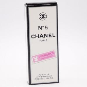 CHANEL No 5, женские масляные духи с феромонами 10 мл