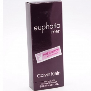 CALVIN KLEIN EUPHORIA, мужские масляные духи с феромонами 10 мл