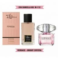 EVA DANIELLA W-112 PINKISS (VERSACE BRIGHT CRYSTAL), женская парфюмерная вода 100 мл