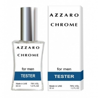 AZZARO CHROME, тестер для мужчин 35 мл (производство ОАЭ)
