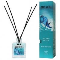 BEA'S REED DIFFUSER DOLPHIN OCEAN, аромадиффузор с палочками 110 мл