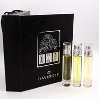 DAVIDOFF 3*15 мл, парфюмерный набор для мужчин 3 в 1
