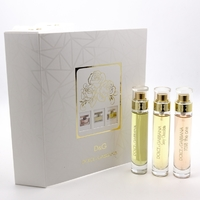 DOLCE & GABBANA 3*15 мл, парфюмерный набор для женщин 3 в 1