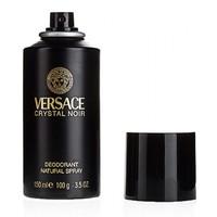 VERSACE CRYSTAL NOIR, парфюмированный дезодорант для женщин 150 мл