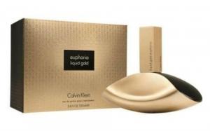CALVIN KLEIN LIQUID GOLD EUPHORIA, туалетная вода для женщин 100 мл
