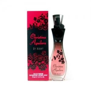CHRISTINA AGUILERA BY NIGHT, парфюмерная вода для женщин 75 мл
