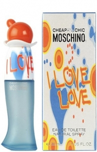 MOSCHINO CHEAP AND CHIC I LOVE LOVE, туалетная вода для женщин 100 мл