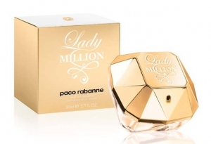 PACO RABANNE LADY MILLION, парфюмерная вода для женщин 80 мл