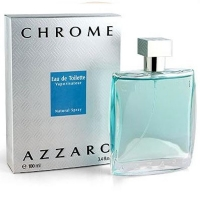 AZZARO CHROME, туалетная вода для мужчин 100 мл