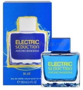 ANTONIO BANDERAS ELECTRIC BLUE SEDUCTION, туалетная вода для мужчин 100 мл