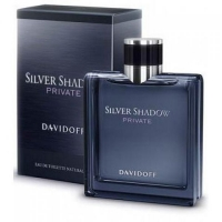 DAVIDOFF SILVER SHADOW PRIVATE, туалетная вода для мужчин 100 мл
