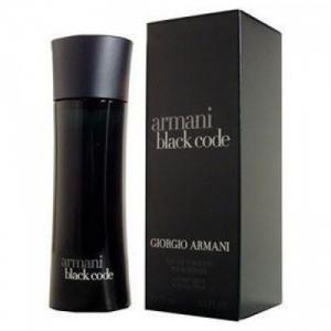 GIORGIO ARMANI BLACK CODE, туалетная вода для мужчин 100 мл