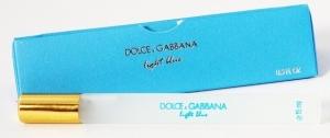 DOLCE & GABBANA LIGHT BLUE, пробник-ручка для женщин 15 мл