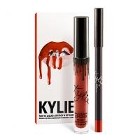KYLIE MATTE LIQUID LIPSTICK & LIP LINER (22), блеск + карандаш для губ 2 в 1