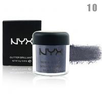 NYX GLITTER BRILLIANTS - №10, пигмент рассыпчатый для лица и тела 8 г