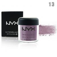 NYX GLITTER BRILLIANTS - №13, пигмент рассыпчатый для лица и тела 8 г