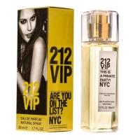 CAROLINA HERRERA 212 VIP, женская парфюмерная вода-спрей 50 мл