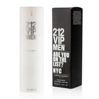 CAROLINA HERRERA 212 VIP MEN, мужской компактный парфюм 45 мл