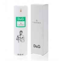 DOLCE & GABBANA 6 L'AMOUREUX, женский компактный парфюм 45 мл