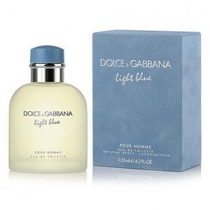 DOLCE & GABBANA LIGHT BLUE, туалетная вода для мужчин 125 мл