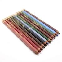 USHAS, карандаши для глаз и губ цветные (12 штук)
