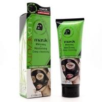 HUDA BEAUTY, чёрная маска для лица и носа 130 мл