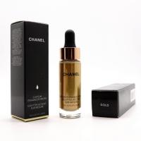 CHANEL CUSTOM ENHANCE DROPS - GOLD, хайлайтер для лица 15 мл